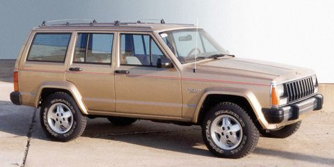 <p>Jeep Wranglers are great, but in a blizzard, doors and a roof are much-appreciated. In that case, you'll want an XJ. Its engine will run forever, and its four-wheel drive system will keep you from getting stuck. And when the snow melts, you can take it muddin'.</p>