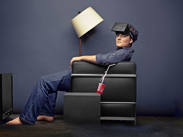 Oculus Rift Palmer Luckey And The Virtual Reality Resurrection