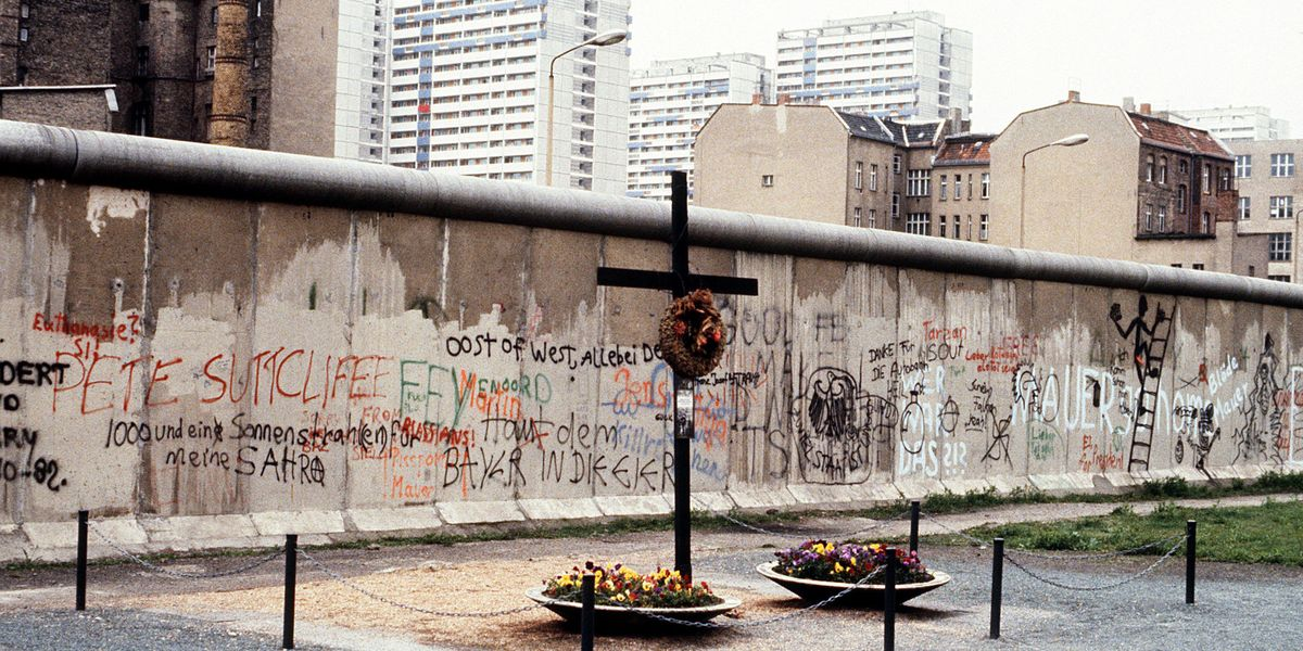 Homeopathic Quacks Believe in the Healing Power of Drinking the Berlin Wall