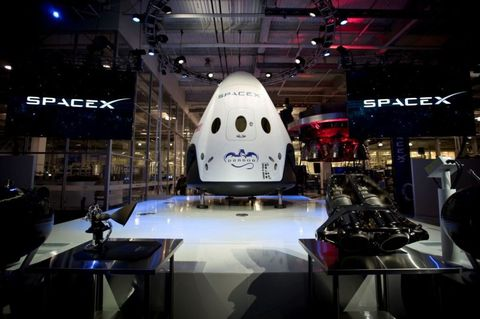 Aerospace engineering, Space, Exhibition, Machine, Display device, Auto show, Aircraft, Spacecraft,