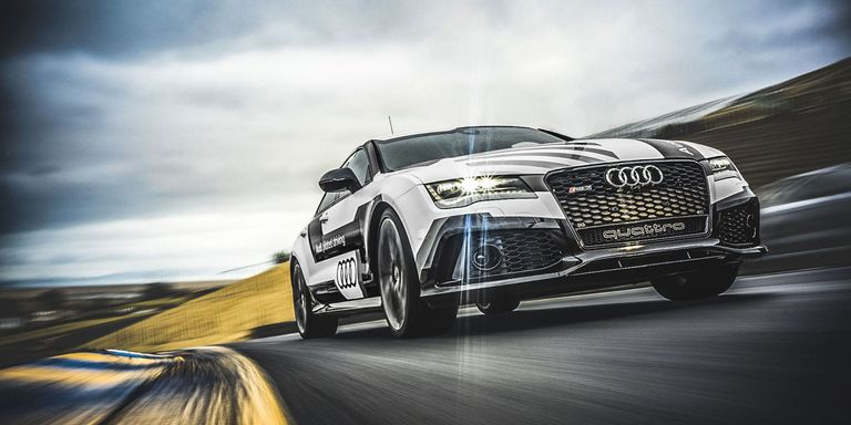 I Raced A SelfDriving Audi To Defend Humanitys Honor - Audi car that drives itself