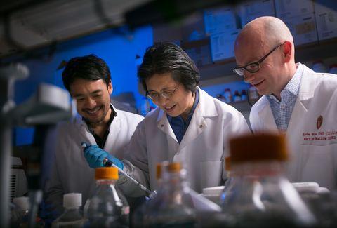 Glasses, White coat, Uniform, Laboratory, Job, Research, Service, Scientist, Bottle, Chemist,