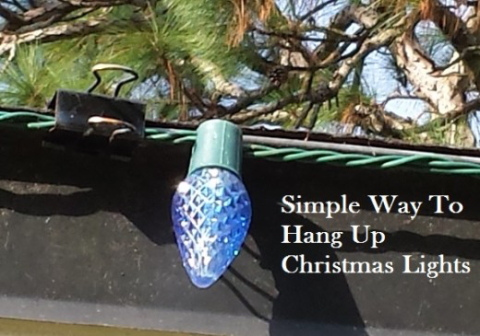 "<p>Binder clips offer a handy way to hang lights on the outside of your house. The color blends into the dark roof and the clip design makes it super easy to hang and then take down at the end of the season.</p><p><a href=""http://hubpages.com/holidays/Tips-for-Hanging-Up-Christmas-Holiday-Lights-Outside#"" target=""_blank""><em>See more at HubPages »</em></a></p>"