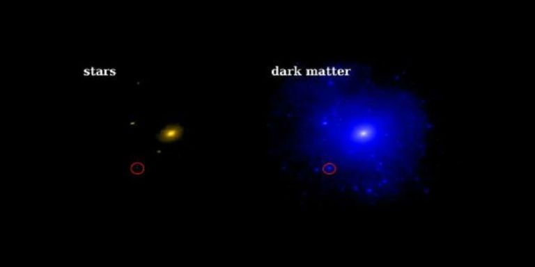 Nearby Galaxy Has the Most Dark Matter We've Ever (Not) Seen