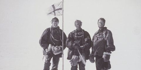 """<p>Mawson actually traveled with Shackelton on one of his earlier expeditions, in 1907 to 1909. His own survival story might even top the doomed voyage of the <i>Endurance</i> in the annals of the <a href=""""http://news.nationalgeographic.com/news/2013/12/131231-antarctica-ship-ice-trapped-explorers-history-science/"""">greatest ever recorded</a>.</p><p>The Australasian Antarctic Expedition of the 1910s was Mawson's plan to visit the heretofore unexplored region of King George V Land, the part of Antarctica directly south of Australia. Mawson trekked across the ice with British officer Belgrave Ninnis and Swiss skier Xavier Mertz, but 35 days in, Ninnis fell through the ice into a deep crevasse; many of the sled dogs and a lot of the provisions fell in with him. The two survivors turned back, but had precious little food and five weeks of travel ahead of them. So—and there's no easy way to say this—they ate some of the dogs, and fed parts of them to the remaining dogs.</p><p> Both men grew sick and gaunt. Mertz, understandably, went completely insane and died, possibly related to eating dog liver that is now known to contain extremely high levels of vitamin A (the Inuit know not to do this). Mawson himself later fell into a crevasee and had to pull himself out, twice, with nothing more than raw determination. He made it back to base only to find out he'd missed his ship by a matter of hours, and would have to winter in Antarctica another year. He would live more than 40 more years.</p>"""
