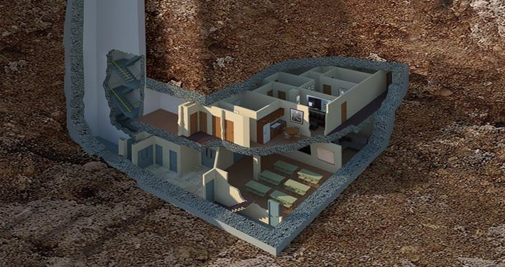 This 17 5m Mansion Of A Doomsday Bunker Is For Sale In Georgia
