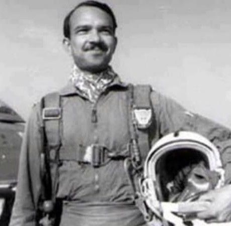 "<p>Muhammad Mahmood Alam was a Pakistani Air Force jet fighter pilot in the <a href=""https://en.wikipedia.org/wiki/Indo-Pakistani_War_of_1965"">Indo-Pakistani War of 1965</a>. He was the last fighter pilot to become an ace in a day, shooting down five Indian <a href=""https://en.wikipedia.org/wiki/Hawker_Hunter"">Hawker Hunter</a> fighter jets in less than a minute on September 7 1965, the last four of which he downed within 30 seconds. A national hero in Pakistan, Alam holds the world record for becoming an ace in the shortest amount of time. This bold feat also makes him the only jet pilot to become an ace in one day. Alam was already a respected leader and proficient pilot and gunner when the war started in April 1965. He piloted an F-86 Sabre and downed a total of nine Indian Hawker Hunters in the 1965 war, as well as damaging two others.</p>"