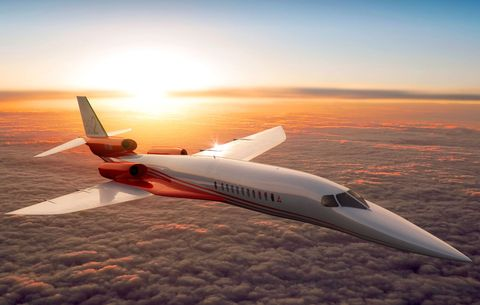"<p>Aerion Corporation's plane for a <a href=""http://www.popularmechanics.com/flight/a18238/as2-supersonic-jet/"">possible flying supersonic passenger aircraft</a> has a lot going for it. Supersonic and transonic airflow across the natural laminar flow wing has been proven in wind tunnel test and has also been tested in conjunction with <a href=""http://www.nasa.gov/centers/dryden/Features/sblt_phase_2.html"">NASA's F-15 flying testbed</a>. The company has partnered with Airbus Defence and Space to collaborate on certification issues. Airbus most likely would produce the major airframe components in Europe, which would be shipped to a final assembly site somewhere in the United States. </p><p>Of course, there are setbacks. The first flight has already been <a href=""https://www.flightglobal.com/news/articles/dubai-aerion-continues-search-for-us-assembly-site-418885/"">delayed to 2021</a>, two years beyond the original projected date. A few key decisions have yet to be made, like where the final assembly plant will be located and which manufacturer will build the three jet engines needed to propel the craft beyond the speed of sound. Aerion expects to be the first to bring a supersonic business jet to the market with a recent <a href=""http://www.aviationtoday.com/av/topstories/Flexjet-Emerges-as-Aerion-Supersonic-Jet-Launch-Customer_86586.html#.Vk9h7WQrLmF"">announcement of 20 firm fleet orders</a> to their launch customer Flexjet.</p>"