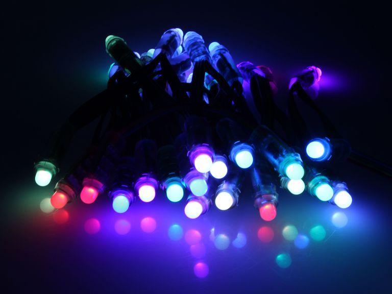 Best led christmas lights 2017 how to use led holiday lights flickr user solarboticscc 20 aloadofball Choice Image