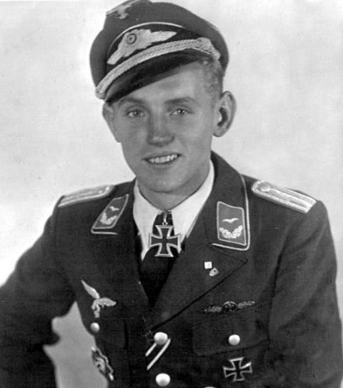 "<p>""Bubi"" to the Germans and ""The Black Devil"" to the Soviets, Erich Hartmann is <em>the </em>ace of aces, with more aerial combat victories than any other pilot in history. He shot down an astounding 352 enemy aircraft during his career as a fighter pilot for the <em>Luftwaffe, </em>the aerial warfare branch of the German military in World War II. Hartmann crash-landed his damaged fighter on 14 separate occasions, though each crash-landing was due to mechanical failure or damage caused by debris from an enemy aircraft Hartmann had downed. In his 1,404 combat missions, Hartmann was never forced to land due to enemy fire. He flew a <a href=""https://en.wikipedia.org/wiki/Messerschmitt_Bf_109"">Messerschmitt Bf 109</a> and was continuously developing his skills as a stalk-and-ambush fighter. Unlike some of his German comrades, he didn't rely on accurate deflection shooting—which involves leading the target with gunfire so the projectile and aircraft collide—but instead used the high-powered engine of his Me 109 to achieve quick sweeps and approaches, even diving through entire enemy formations on occasion. </p>"