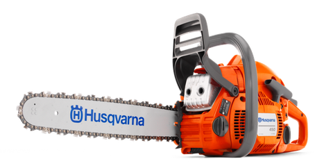 """<p>Chainsaws have held the title of """"most dangerous tool"""" for quite some time, and for good reason. Beyond what you've seen in the movies, chainsaws are very useful tools to have around the home, but they should always be respected. There are no guards on this saw and the chain can cut at any angle. Always wear proper protective chaps, gloves, and face protection.</p><p><a href=""""http://www.popularmechanics.com/home/tools/reviews/g233/4283685/"""">7 New Chainsaws</a></p><p><br></p>"""