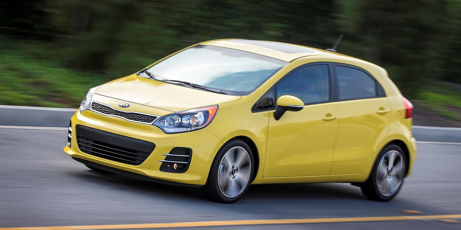 <p>What used to be the byword in awful cheap transportation has turned into a great looking hatchback that's fun to drive. Get it with the manual gearbox.</p>