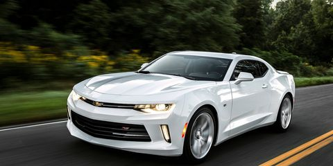 "<p>This is Chevy's first attempt at making a turbocharged four-cylinder Camaro. The 2.0-liter engine is borrowed from a Cadillac ATS and GM estimates a 0-60 sprint in under six seconds. And on highways, the <a href=""http://www.roadandtrack.com/new-cars/news/a25749/what-you-need-to-know-about-the-new-2016-chevy-camaro/"">Camaro should get 30 mpg</a>. When was the last time a factory Camaro could do that?</p>"