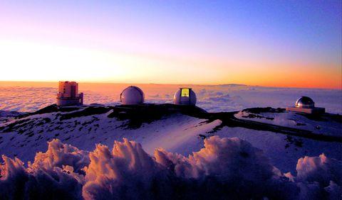 Winter, Freezing, Horizon, Evening, Dusk, Sunrise, Sunset, Morning, Afterglow, Red sky at morning,
