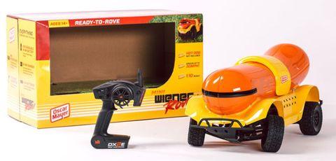 Toy, Automotive tire, Auto part, Orange, Bumper, Plastic, Synthetic rubber, Automotive wheel system, Machine, Toy vehicle,