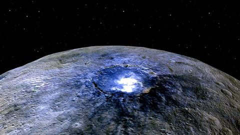 There Are Organic Molecules on the Dwarf Planet Ceres