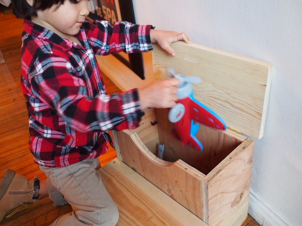 How To Build A Storage Step Stool For Kids
