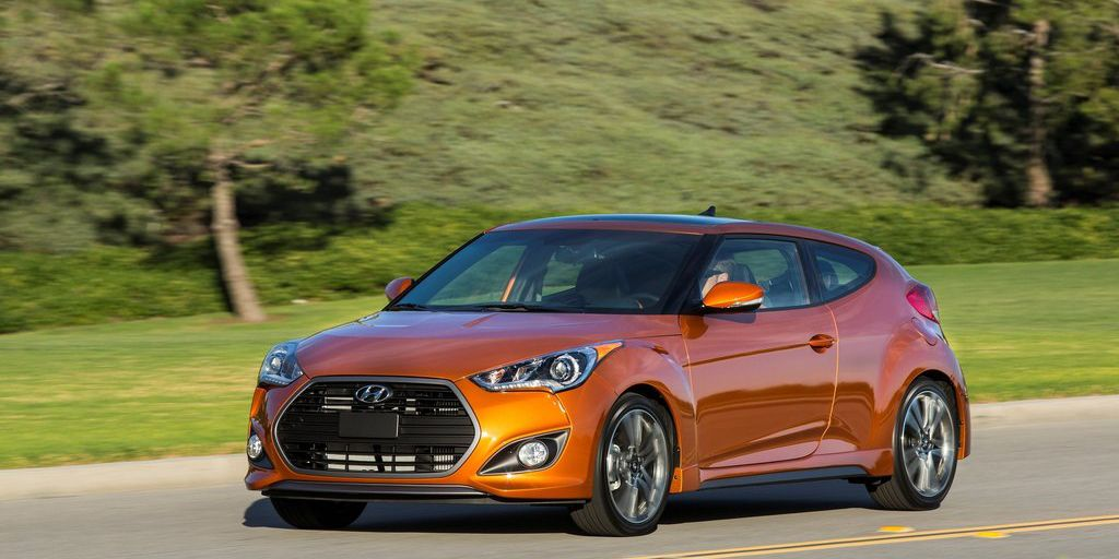 <p>If you go for the Rally Edition, the Hyundai Veloster Turbo is a quick little car. In base form, it's not a particularly hot hatch, but the Rally Edition is pretty darn good. With an even sportier suspension than the R-Spec, it's significantly more enjoyable to drive than the base version.</p>