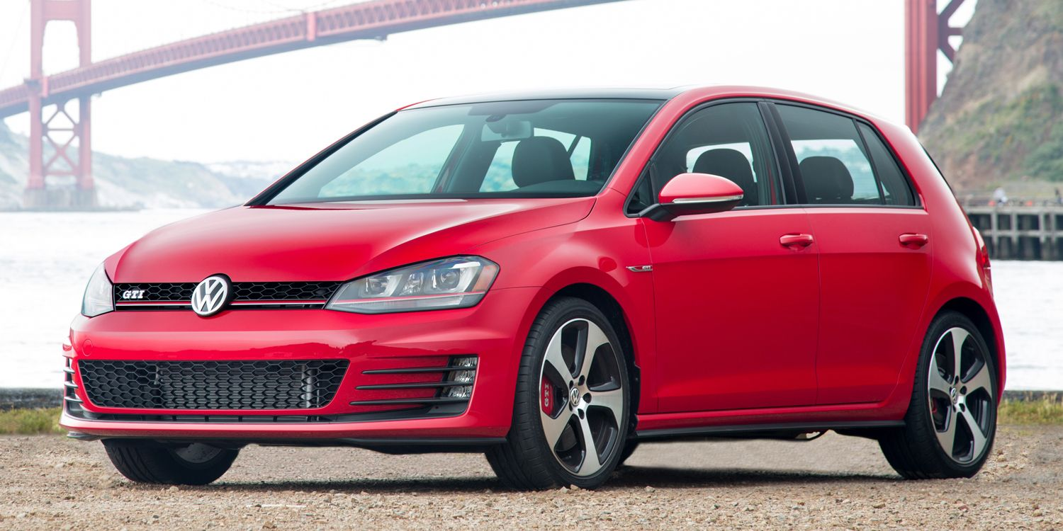 "<p>On paper, the Volkswagen Golf R looks like it would be much better than the GTI. It's more powerful, more aggressively-tuned, and it's all-wheel drive. Then again, <a href=""http://www.roadandtrack.com/new-cars/road-tests/reviews/a5477/the-next-volkswagen-gti-will-be-well-worth-the-wait/"" target=""_blank"">the GTI is is enough fun</a>, you might not think you need to spend the extra money to get the R.</p>"