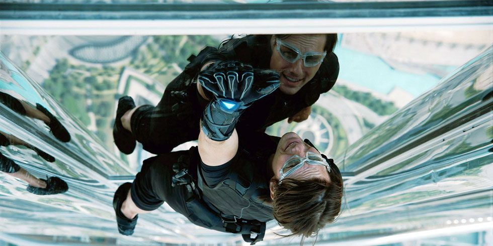 <p>Thrill-seeking spy Ethan Hunt is the popcorn movie definition of tenacity. Hang him off a skyscraper, throw him on a speeding train, or drop him in a slow-motion shootout and he's got it covered. Say what you will about Tom Cruise, but if Hunt needs to cling to an ascending jet, he'll get out there and do the stunt for real. It shows.</p>