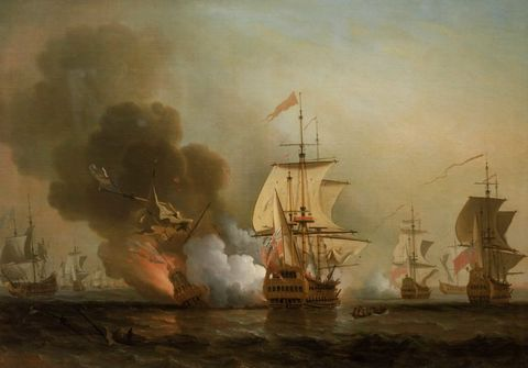 Boat, Watercraft, Sailing ship, Art, Tall ship, Ship, Painting, Mast, Full-rigged ship, Pollution,