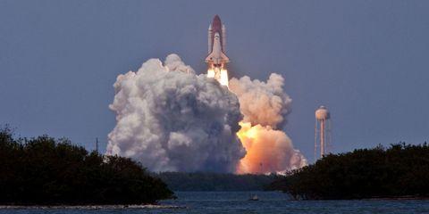 Sky, Natural environment, Atmosphere, Liquid, Atmospheric phenomenon, Rocket, Spacecraft, Aerospace engineering, Pollution, space shuttle,
