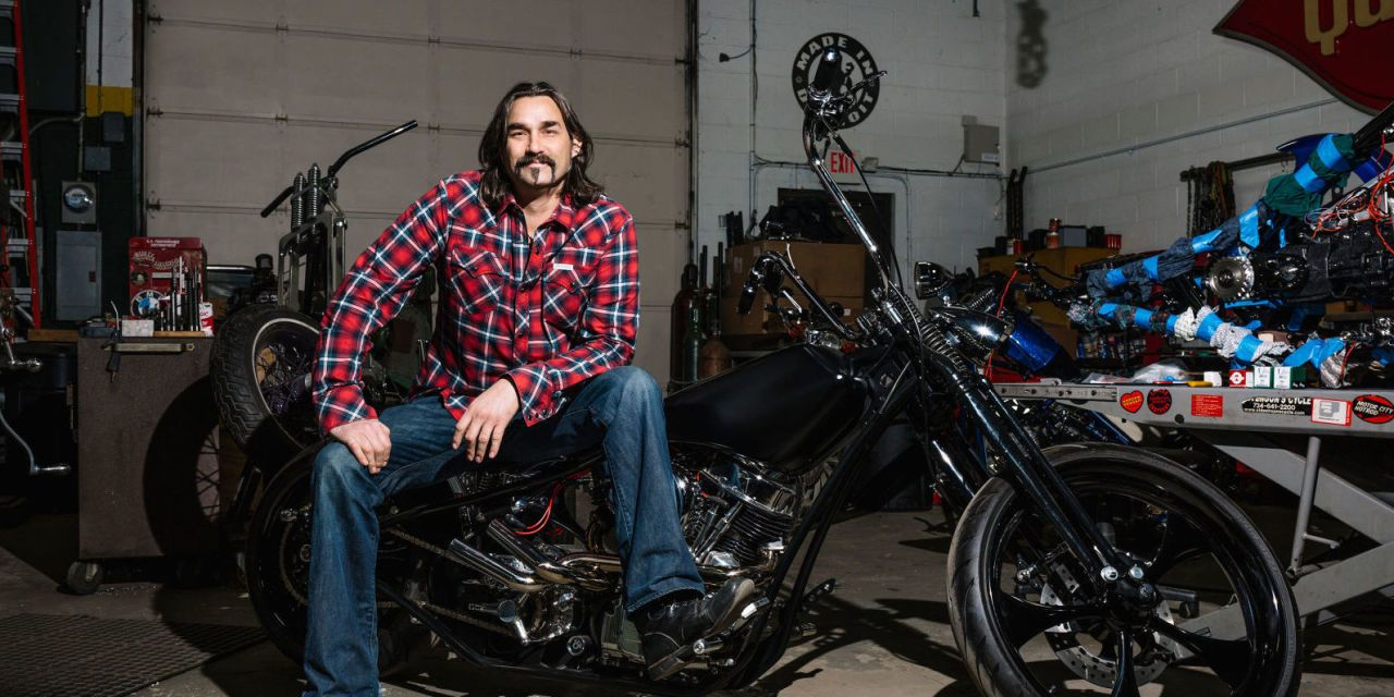 The Man Who Quit His IT Career To Build Badass Motorcycles