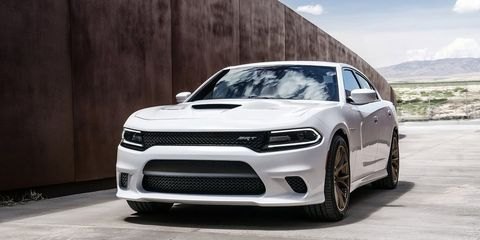"""<p><a href=""""http://www.roadandtrack.com/new-cars/first-drives/a26249/dodge-charger-hellcat-test/"""" target=""""_blank"""">The Dodge Charger Hellcat</a> rides on a dated platform that still incorporates a few parts from the days when Daimler and Chrysler were together, and its engine isn't much more than a good old fashioned pushrod V8 with a supercharger . . . and 707 horsepower. Yet somehow this Franken-car is the coolest sedan you can buy in the U.S today.</p>"""