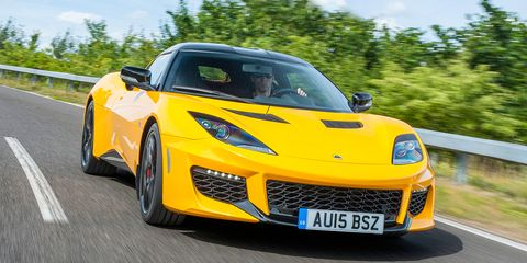 """<p><a href=""""http://www.roadandtrack.com/new-cars/first-drives/a26171/2016-lotus-evora-400-first-drive/"""" target=""""_blank"""">The Lotus Evora 400</a> is a car made by a company in England that's perpetually in financial trouble, and it's powered by an engine sourced from a Toyota Camry. It has """"disaster"""" written all over it, but somehow, it's actually good. Like, really good.</p>"""
