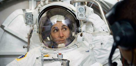 Astronaut, Aerospace engineering, Space, Personal protective equipment, Service, Aerospace manufacturer, Aviation, Crew,