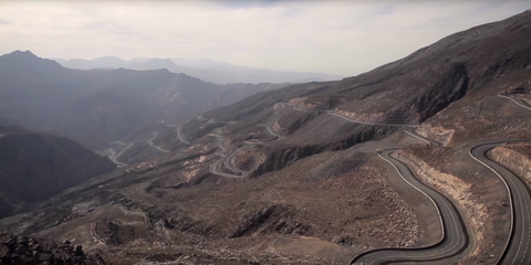 Is This Unknown Middle Eastern Highway the World's Best Driving Road?