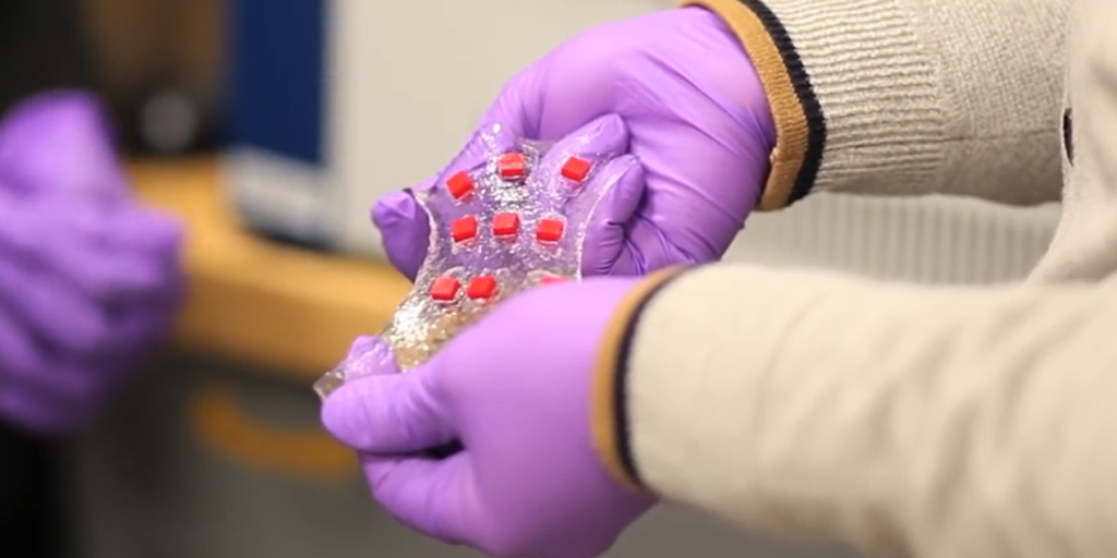 Smart Bandage Has Embedded Electronics To Track And Treat Your Wound