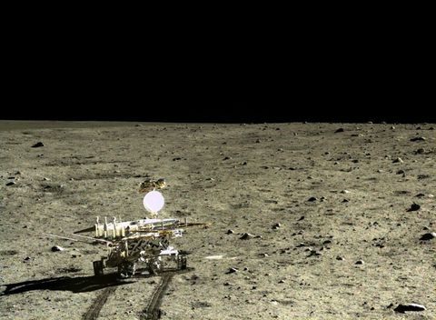 The First Lunar Lander in Four Decades Discovered a New Kind of Moon Rock