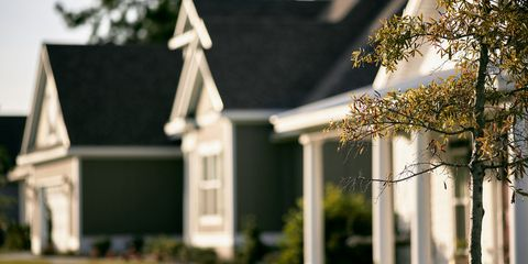 Property, House, Real estate, Home, Roof, Land lot, Residential area, Door, Garden, Lawn,
