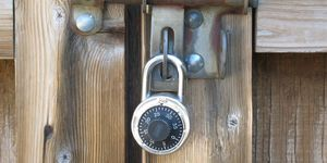 <p>Think like a thief and secure every entry point into your home. From your front door to the doggy door, make sure everything is locked and shades are drawn. All outdoor gates should be secured, as access to a yard makes it easier for thieves to work undetected. Take window and sliding glass door security a step further by placing dowels in the tracks for extra security. Lock the interior door from the garage as another safe guard as garages can be easily compromised.</p>
