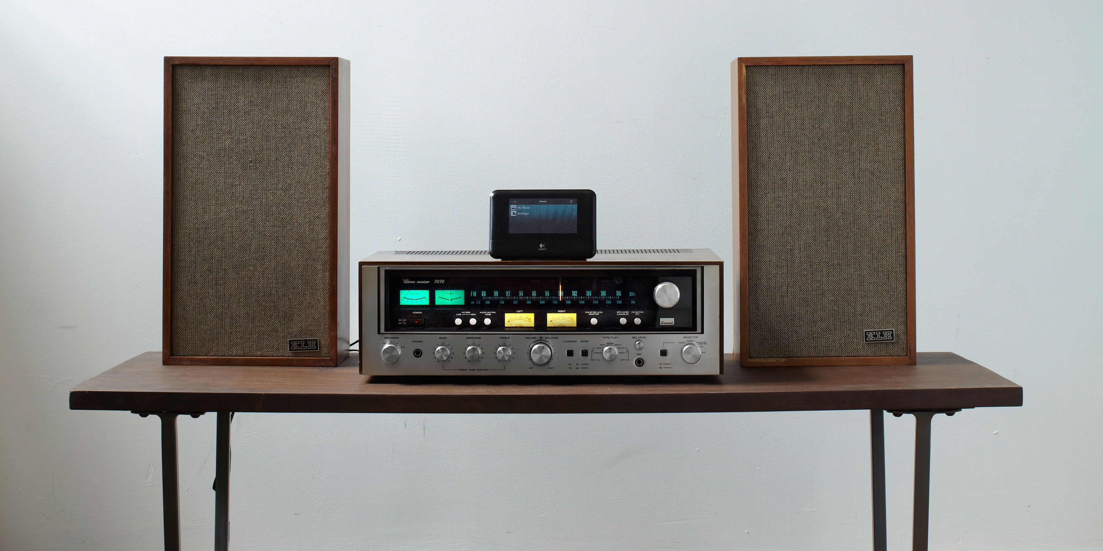 How to Play MP3s Through a Vintage Stereo Receiver