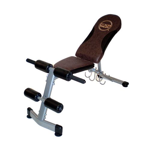 "<p><strong></strong> </p><p><em><strong>$61, <a target=""_blank"" href=""http://www.overstock.com/Sports-Toys/CAP-Barbell-FID-Bench/8076094/product.html?refccid=ADAZXLHUARFLDPKL5U3WOOX5CI&searchidx=4"">overstock.com</a></strong></em></p><p><strong><em></em></strong>Elevate your angle doing a bench press or pec flys on this bench. This will change your range of motion and let you hit different muscles in your arms, chest, and back. <strong><em></em></strong><br><em><strong><a target=""_blank"" href=""http://www.overstock.com/Sports-Toys/CAP-Barbell-FID-Bench/8076094/product.html?refccid=ADAZXLHUARFLDPKL5U3WOOX5CI&searchidx=4""></a></strong></em></p>"