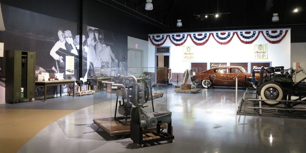"""<p><a href=""""http://www.aacamuseum.org/"""">This Hershey, Pa. museum</a> claims to have the most extensive Tucker collection in the world. It has three of the 51 Tucker 48s built, a number of engines and rolling chassis on display. That alone makes this museum worth a visit, but its extensive collection of Pre-War cars sweetens the deal.</p>"""