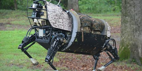 The Day the Marines Met Their Robotic Mule