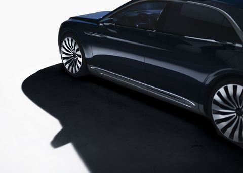I had a chance to shoot the Continental Concept before it's debut at NYIAS, and it was a fantastic experience in the studio studying this car, and they way it reacted to light and shadow. This image wasn't used, but was one of my favorites.