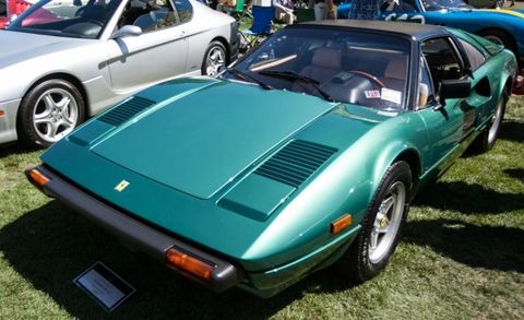 "<p>The 308—in Berlinetta (GTB) and Spyder (GTS, really more a Targa) forms—stayed in production from 1975 to 1989, evolving into the similar 328 for the last four years of that span. It makes many think first of TV's <em>Magnum, P.I.</em> and the generation that grew up in that era is now very active in the collector-car arena, so prices are rising rapidly. Fortunately, they started very low so large percentage gains don't yet result in silly money values—this was really the first high-volume production Ferrari, so they're in plentiful supply. </p><p>The mid-mounted V-8 is essentially the same as in the Dino GT4's, a 3.0-liter quad-cam, first with Weber carbs and then fuel injection from the early 1980s. Four-valve heads came in '83 with the designation QV (<em>quattrovalvole</em>). Then the 328 brought another 200 cc of displacement and 270 horsepower. <br><br>This '82 308GTS our intrepid reporters spotted at <a href=""http://blog.caranddriver.com/cars-and-caviar-we-hit-the-quail-a-motorsports-gathering-gallery"" target=""_blank"">the 2015 Quail Gathering</a> looks like a Grade A car that might fetch more than $72,000 (coincidentally, what a 328GTB sold for new in 1988), while ordinary ""good"" condition 308s sell in the $40,000 to $50,000 range. The coupes are actually rarer than the open-top models. </p><p>Maintenance? Stay atop the need for regular and expensive timing-belt changes—age degradation is as much a concern as mileage here—and the rest is manageable if you stay ahead of things, doing preventative work before it becomes expensive damage.</p>"