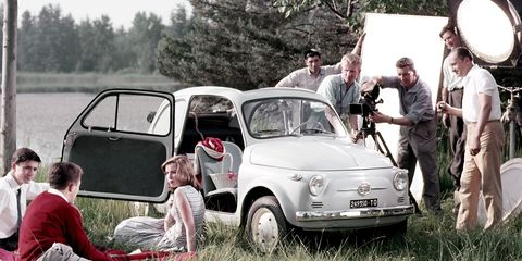 <p>Fiat's take on the affordable post-war European people's car was quintessentially Italian in execution. The role the Nuova 500 needed to fill was purely functional, and yet, its designer, Dante Giacosa, gave the world a style icon. Aside from racing variants tuned by Abarth, the original 500 topped out at 18 horsepower, so acceleration was never brisk.</p><p>Like the Citroën 2CV of France, the Mini of the UK and the Volkswagen Beetle of Germany, the Nuova 500 mobilized a nation, but it did so with undeniable panache.</p>