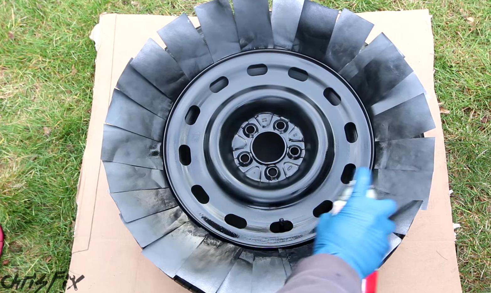 How To Paint Car Wheels — DIY Car Wheel Painting