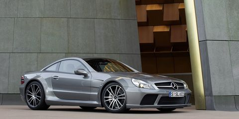 "<p>It was $300,000 when new, but the SL65 AMG Black Series also <a href=""http://www.roadandtrack.com/new-cars/reviews/a14493/2009-mercedes-benz-sl65-amg-black-series-2/"">had a twin-turbocharged V12</a> that made 661-hp and an earth-shattering 738 lb-ft of torque. And this car was the epitome of aggressive. It had ridiculously large front air intakes and fenders so wide you could sit on them. It was an ultimate rear-tire slayer. This is the muscle you'd hire to intimidate someone.</p>"