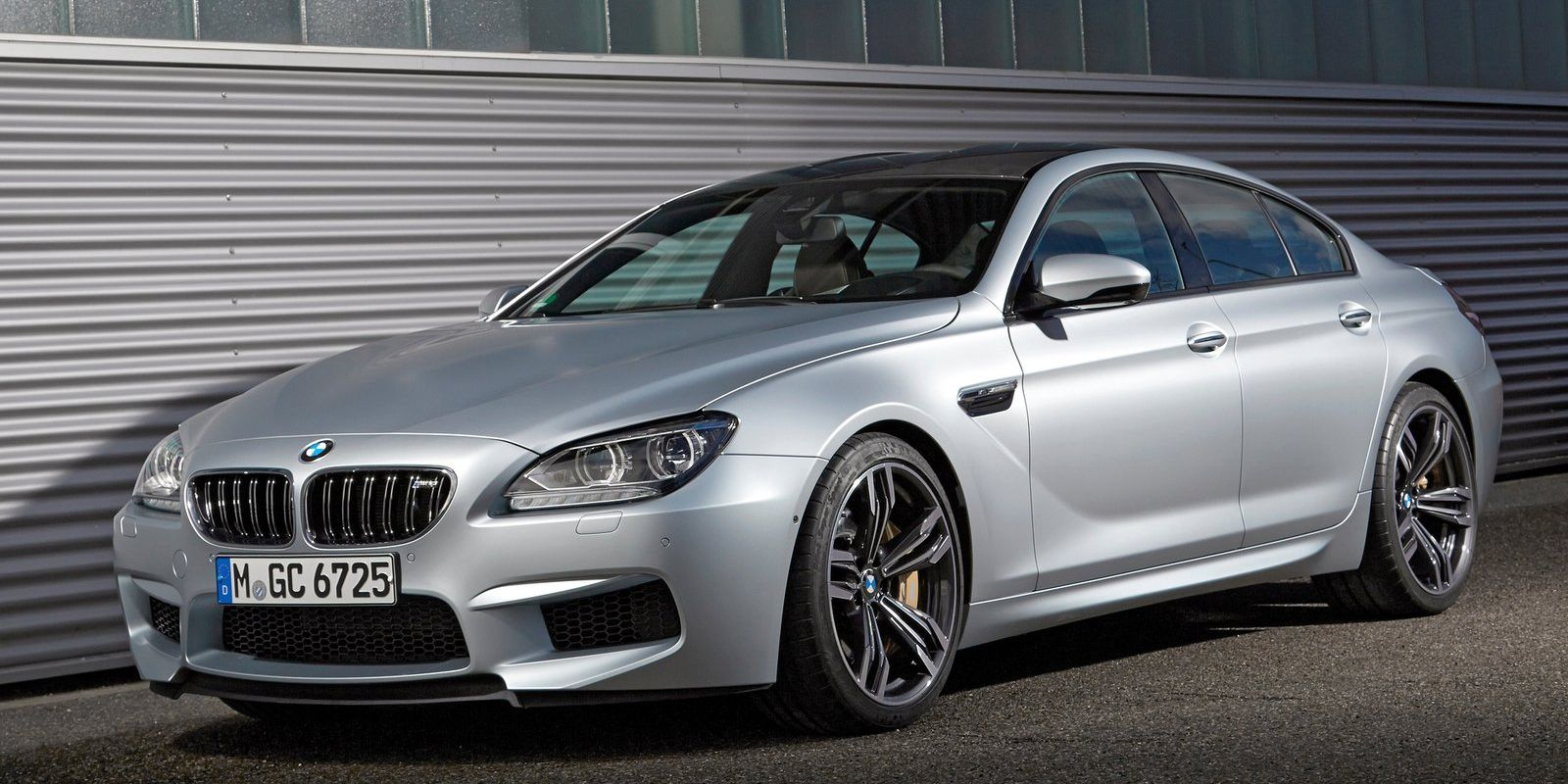 """<p>The sleekness of the M6 Gran Coupe alone should have a smartly-dressed and neatly-preened driver to match. BMW dropped the screaming V10 and went instead with a <a href=""""http://www.roadandtrack.com/new-cars/news/a17976/2013-bmw-m6-gran-coupe/"""">twin-turbocharged V8</a>, which is a little more subtle but still powerful. You wouldn't want to draw <em>too</em> much attention to yourself as a villain, right?</p>"""