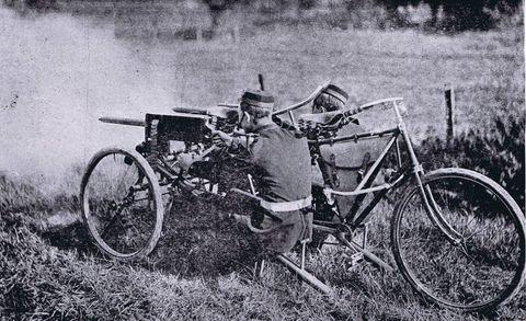 Maxim Dual-Gun Tandem Tricycle