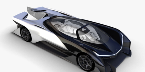This 1000-Hp Electric Car Might Be Faraday Future's Tesla-Killer