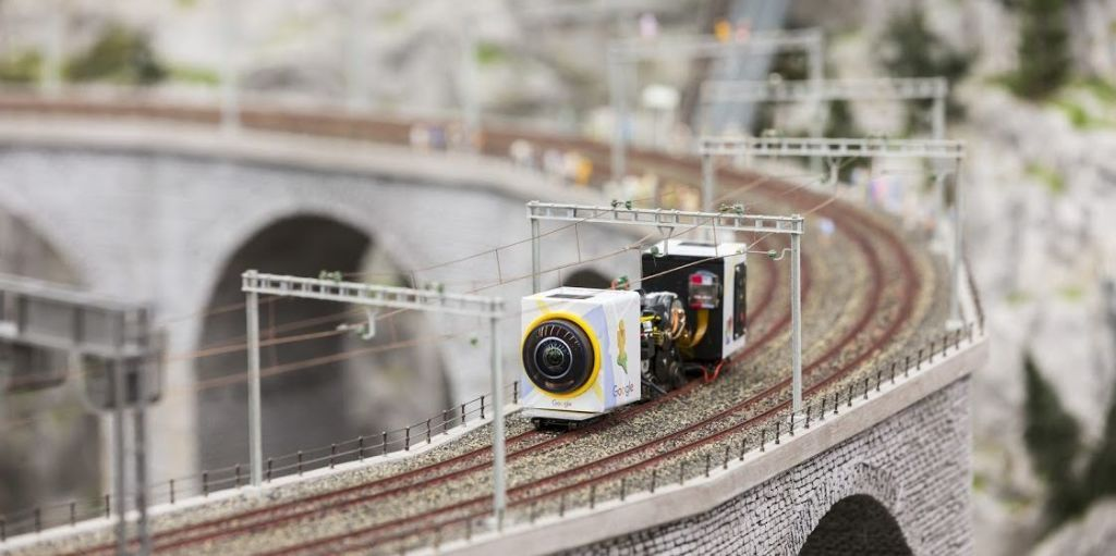Explore the World's Largest Model Train Set Close Up with Google Maps