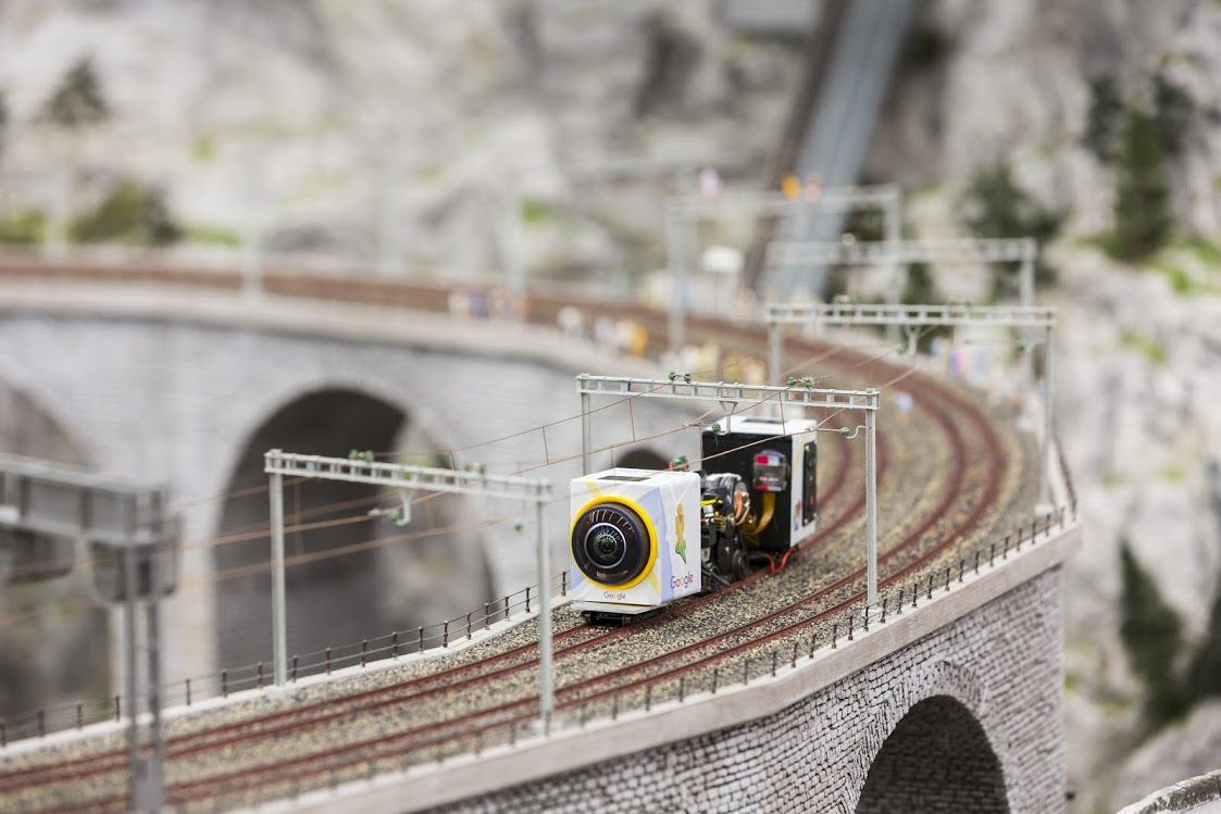 Explore the World's Largest Model Train Set Close Up with