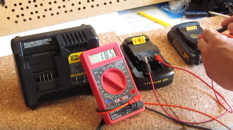how to jumpstart a power tool battery and bring it back to life rh popularmechanics com 6 Volt Generator Wiring Wiring Diagram for 140 International